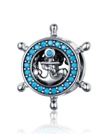 Voyage dream 925 silver marine charm