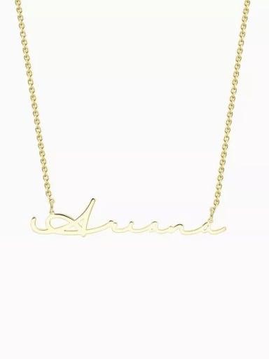 Customized Signature Style Name Necklace