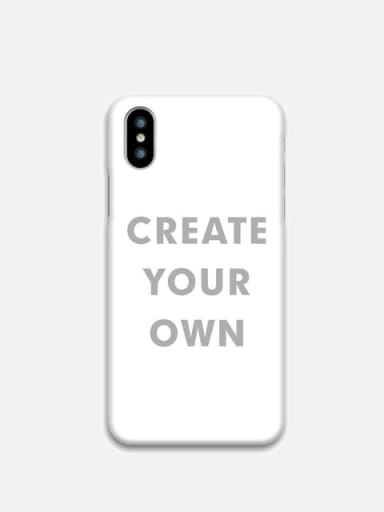 iPhone X/XS - Custom Slim Case