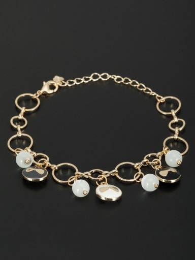 Fashion Gold Plated Round Bracelet