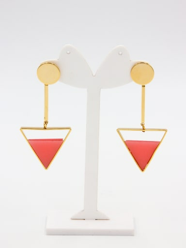 style with Gold Plated Hoop drop Earring