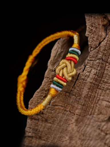 Handmade Chinlon Bracelet with Respect