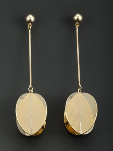 Fashion Gold Plated Drop drop Earring