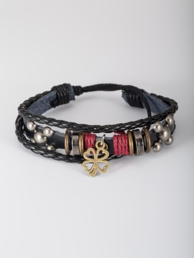 The new  PU Personalized Bangle with Black