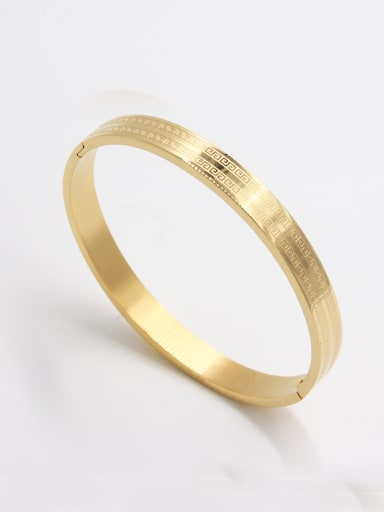 Model No A000043H-002 style with Stainless steel  Bangle  63MMX55MM