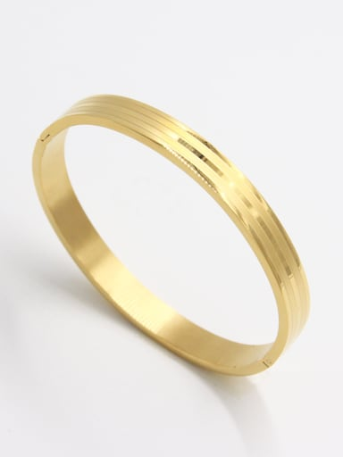 style with Stainless steel  Bangle  63MMX55MM