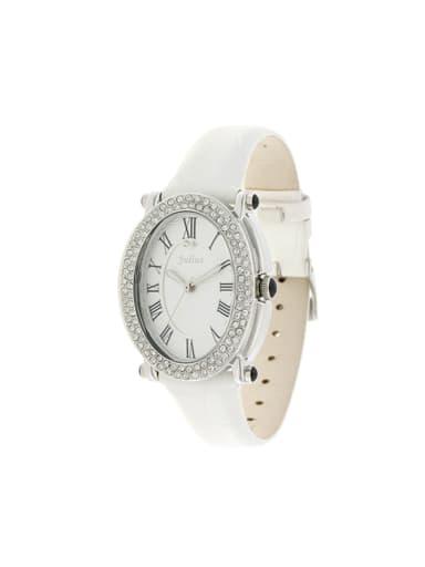 Model No 1000003276 Women 's White Women's Watch Japanese Quartz Round with 24-27.5mm