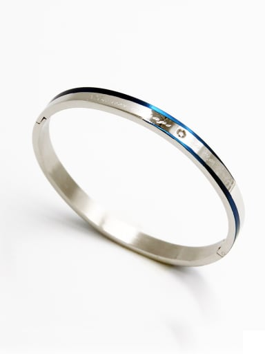 Model No A000026H-005 Fashion Stainless steel  Bangle  59mmx50mm