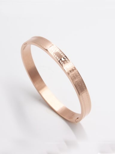 Model No A000040H-001 Fashion Stainless steel  Bangle  63MMX55MM