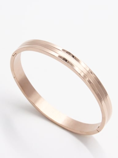 The new  Stainless steel Emerald  Bangle with Rose   63MMX55MM