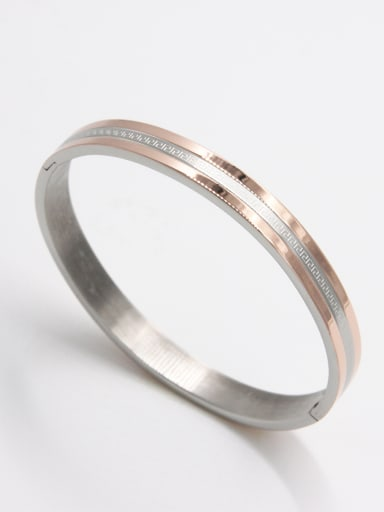 New design Stainless steel   Bangle in Multicolor color  63MMX55MM