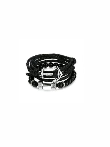 Model No 1000000594 Blacksmith Made Beads Charm Bracelet