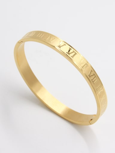 Fashion Stainless steel  Bangle   63MMX55MM