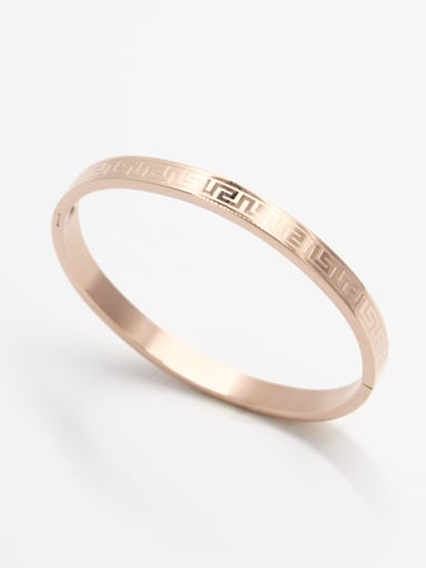 A Stainless steel Stylish   Bangle Of     59mmx50mm