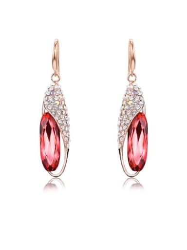 Women Fashion Austria Crystal Stud Cluster earring