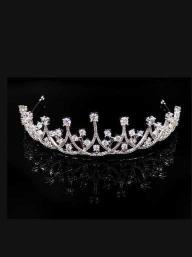 Elegant Sparking Fashion Copper Wedding Party Hair Accessories