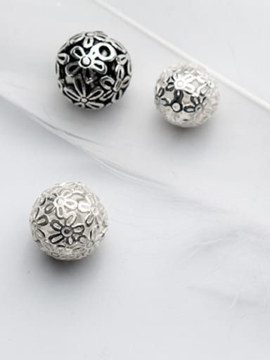 925 Sterling Silver With Silver Plated Beads