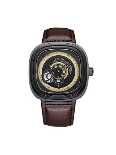 JEDIR Brand Fashion Square Mechanical Watch