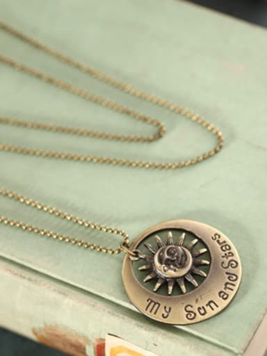 Women High-grade Sun Shaped Necklace