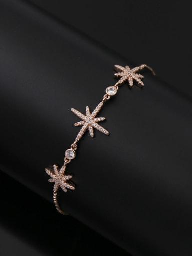 Star Copper Bracelet