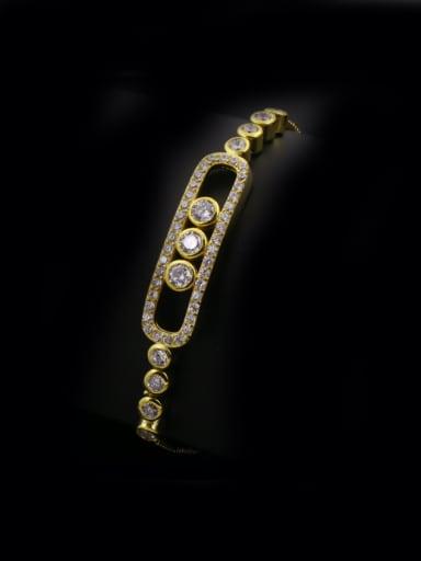Rectangular Zircon Bracelet