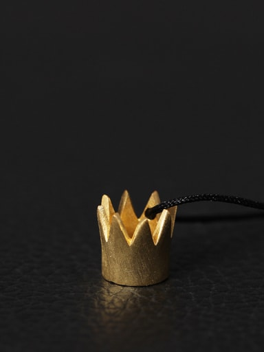 Creative Queen Small Crown Necklace