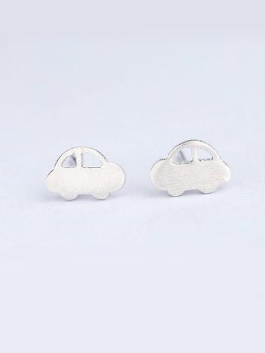 Temperament Car Shaped Stud Earrings