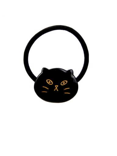 Rubber Band With Cellulose Acetate  Cute Cartoon Children cat Hair Ropes