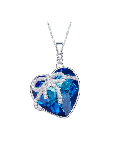 2018 Swarovski Crystals Heart-shaped Necklace
