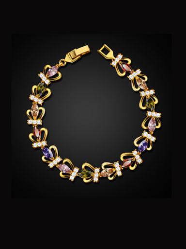 Fashion Crown Zircon Bracelet
