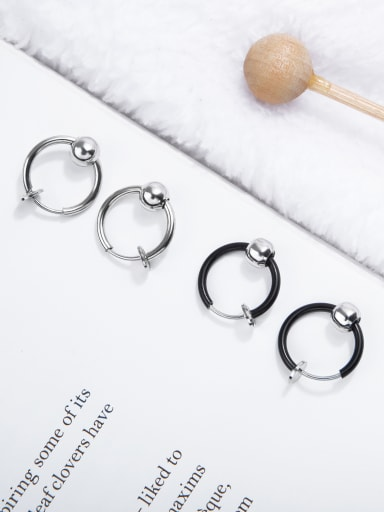 Stainless Steel With Minimalism Stud Earrings