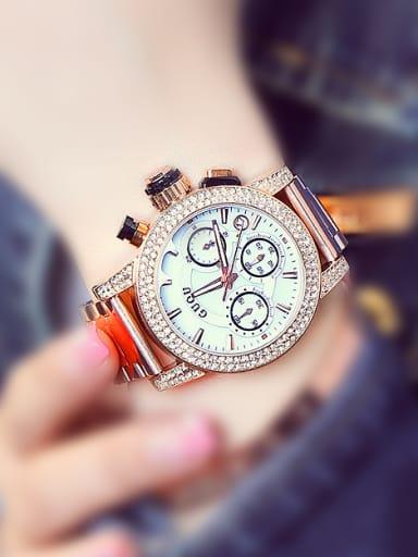 GUOU Brand Luxury Chronograph Mechanical Watch