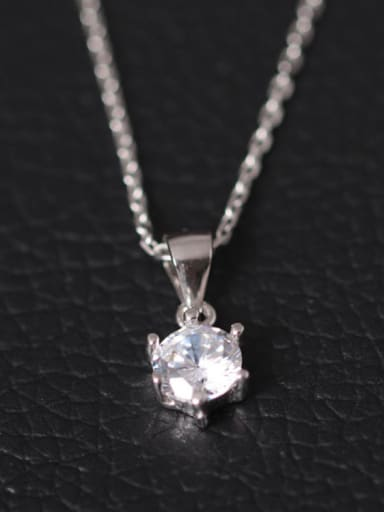 Shining Zircon Pendant Women Necklace