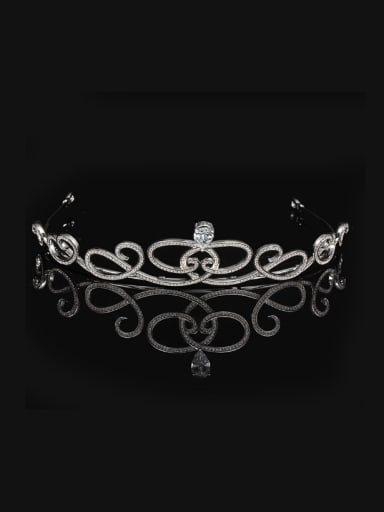 Flower Crown-shape Noble and Classical Hair Accessories