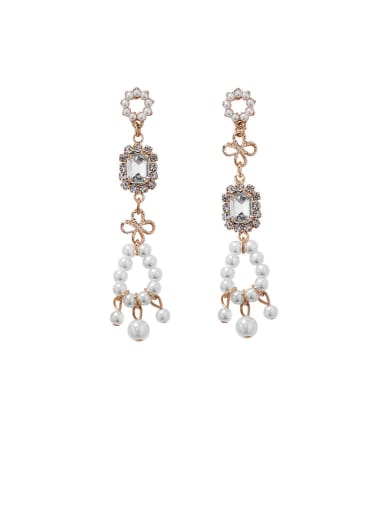 Alloy With Platinum Plated Fashion Geometric Drop Earrings