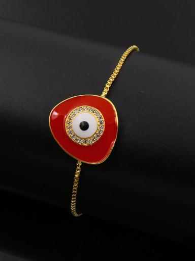 Enamel Eye Stretch Bracelet