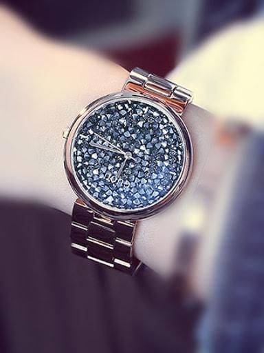 GUOU Brand Rhinestones Watch