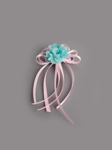 Ribbon Flower Hair fascinator