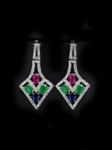Party Accessories Irregular Drop Cluster earring