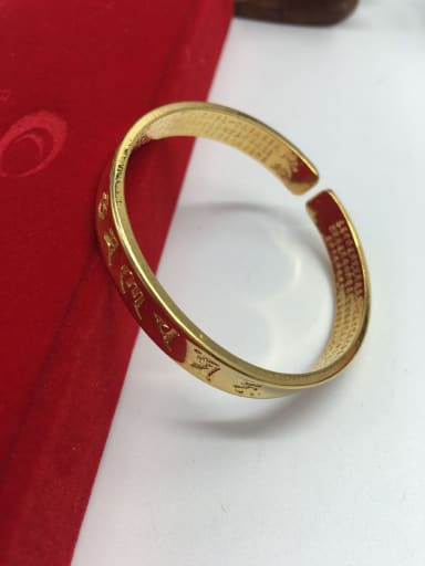 Open Design Geometric Shaped Bangle