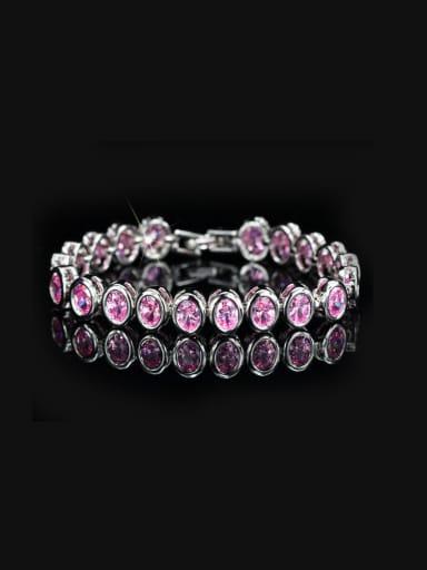 Fashion AAA Color Zircon Wedding Bracelet