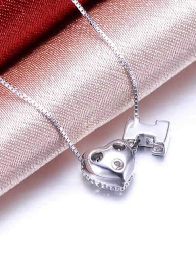 All-match Heart Shaped Necklace