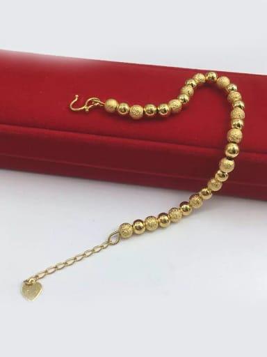Women Delicate Frosted Bead Bracelet