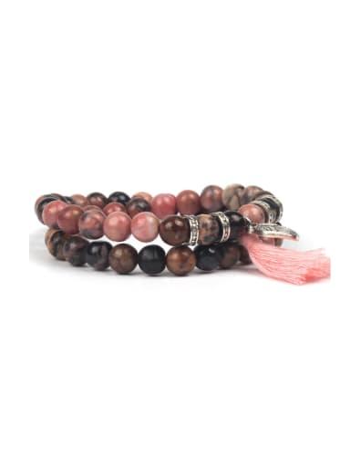 TMulti-layer Colorful Tassel Fashion Bracelet