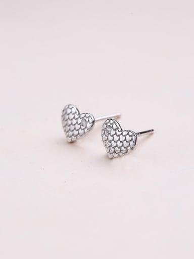 Women Fashion Heart Shaped Earrings