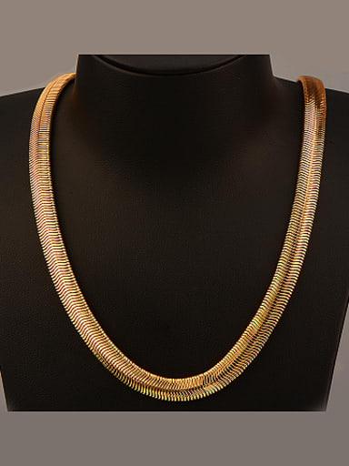 18K Fashion Jadoku Chain Necklace