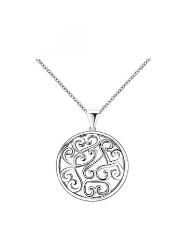 Personality Platinum Plated Tree Vine Shaped Necklace