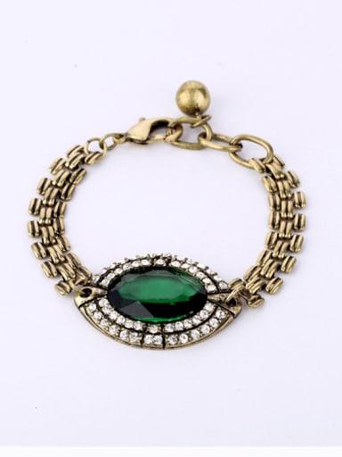 Retro Artificial Gemstone Bracelet