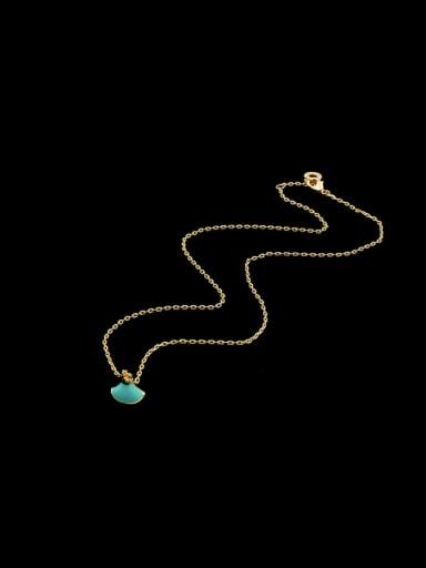 Color Fan Necklace
