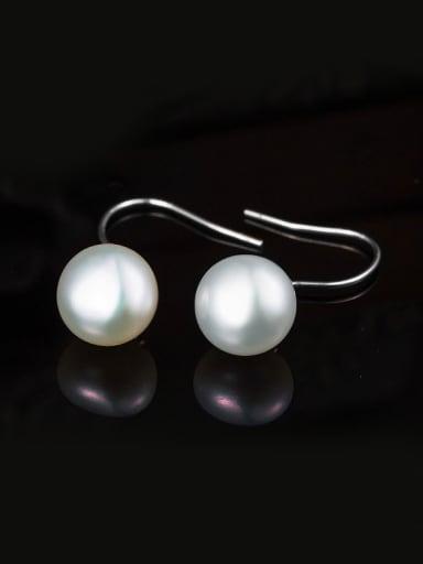 Freshwater Pearl hook earring